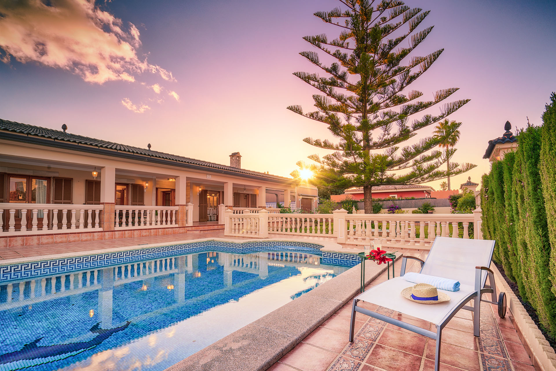 VILLA CHABELA Badia Gran Mallorca Kostenloses WLAN