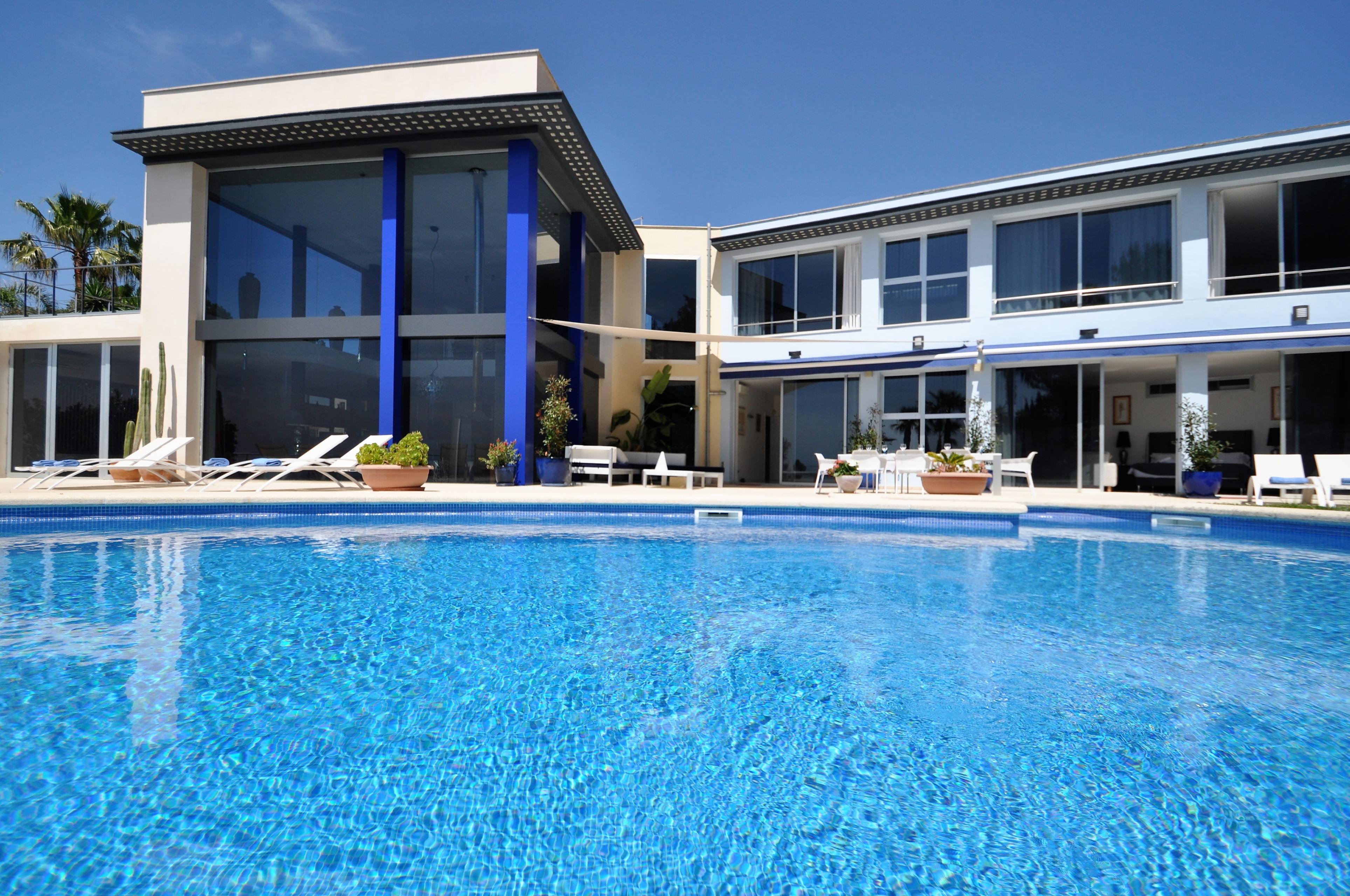 Maison de vacances VILLA BAY BLUE- Bahia Azul- Mallorca - VILLAONLINE - Kostenloses WLAN (2684052), Bahia Azul, Majorque, Iles Baléares, Espagne, image 4