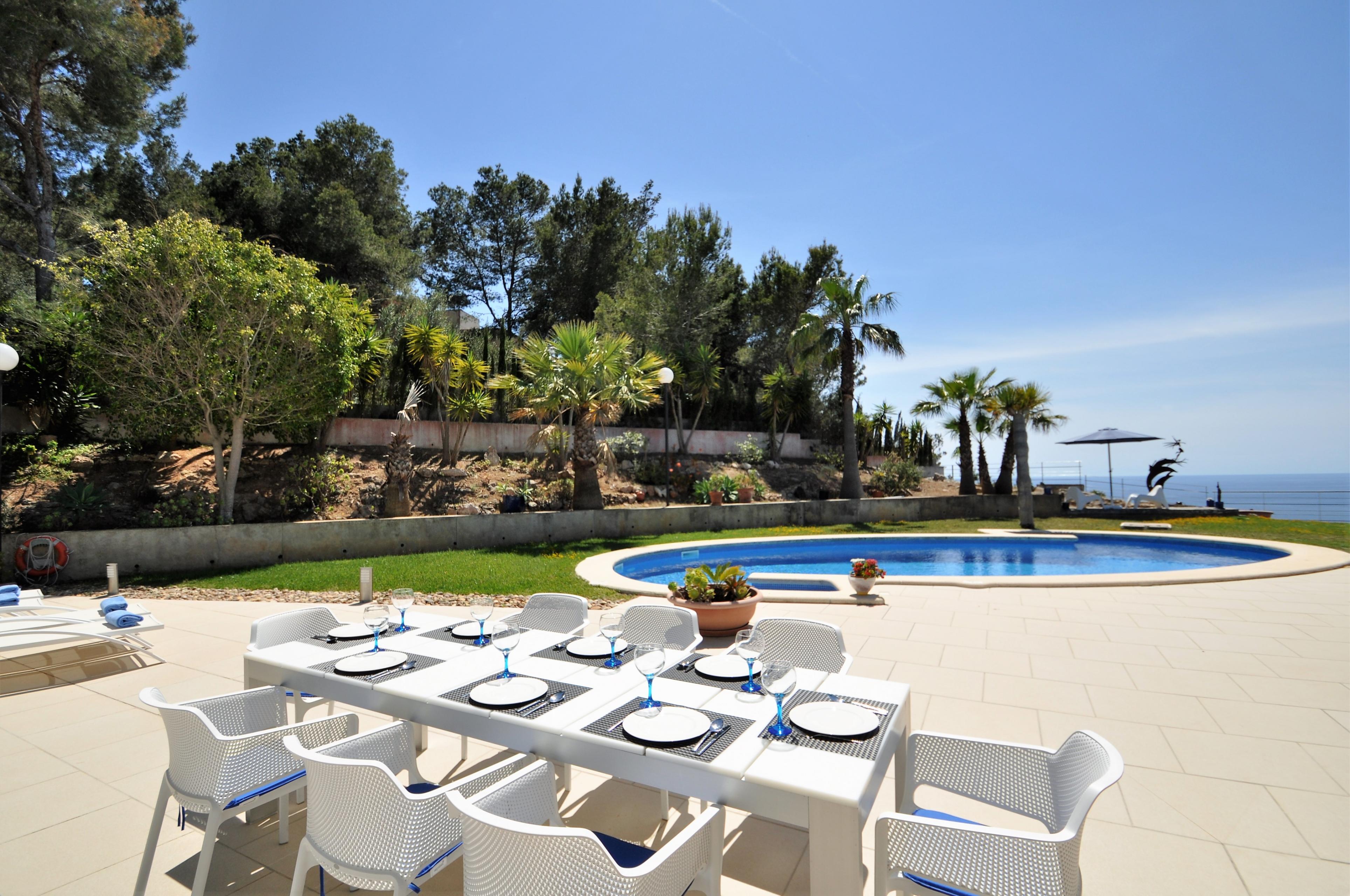 Maison de vacances VILLA BAY BLUE- Bahia Azul- Mallorca - VILLAONLINE - Kostenloses WLAN (2684052), Bahia Azul, Majorque, Iles Baléares, Espagne, image 5