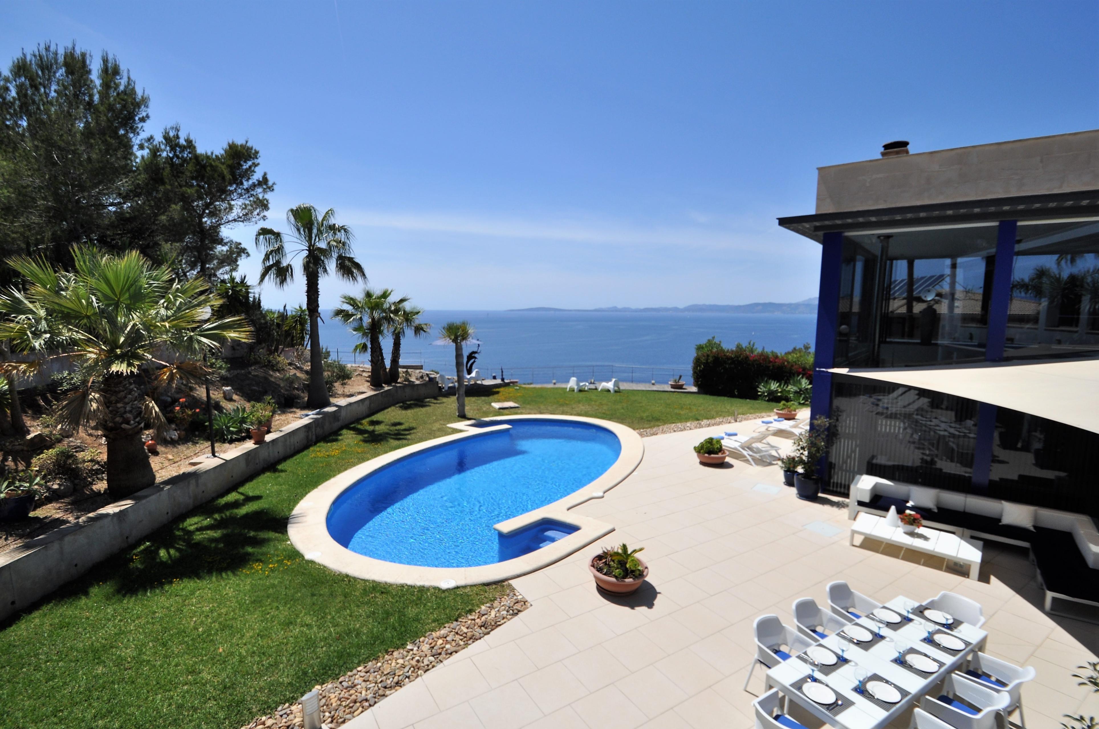Maison de vacances VILLA BAY BLUE- Bahia Azul- Mallorca - VILLAONLINE - Kostenloses WLAN (2684052), Bahia Azul, Majorque, Iles Baléares, Espagne, image 7