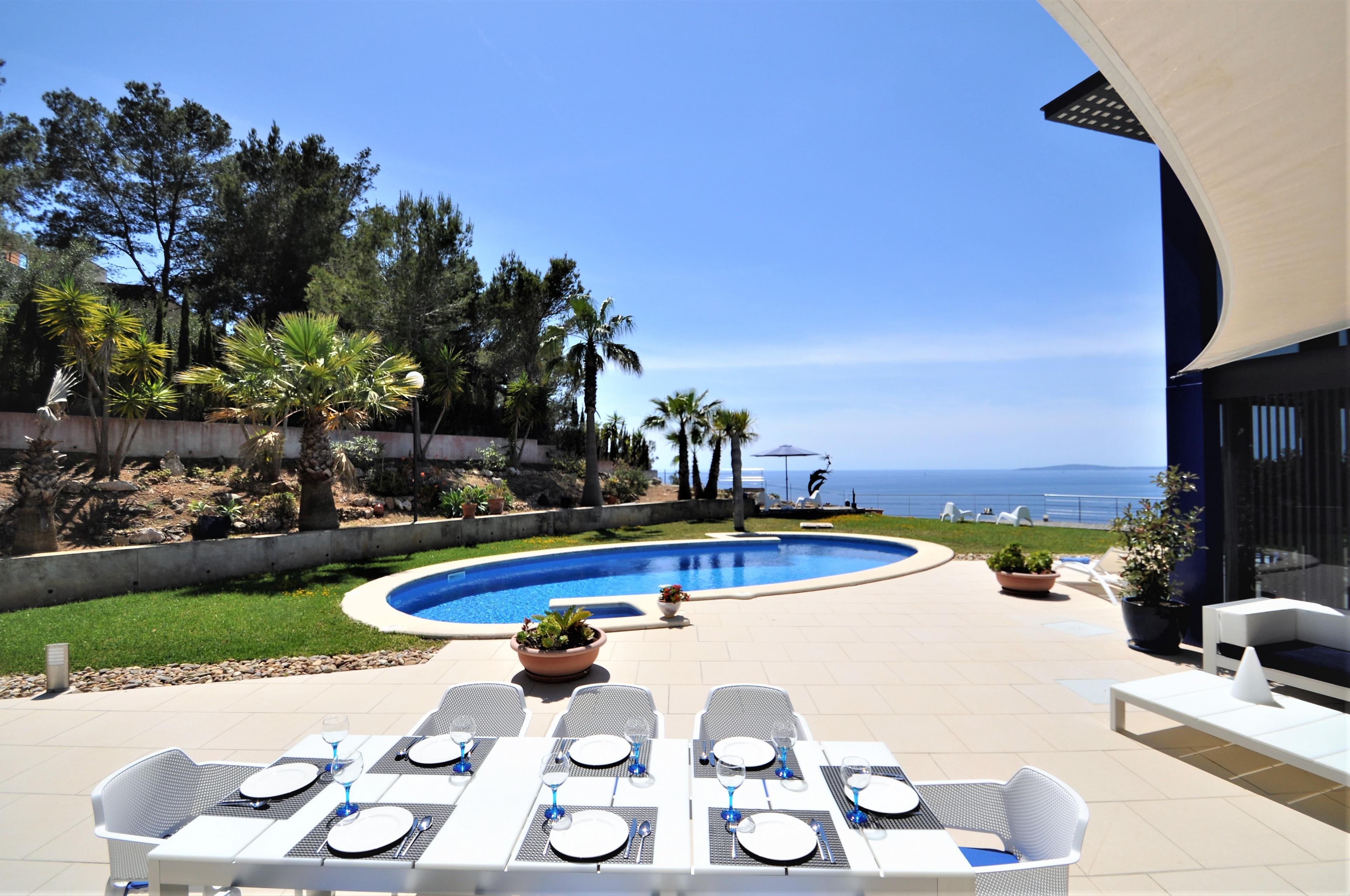 Maison de vacances VILLA BAY BLUE- Bahia Azul- Mallorca - VILLAONLINE - Kostenloses WLAN (2684052), Bahia Azul, Majorque, Iles Baléares, Espagne, image 10
